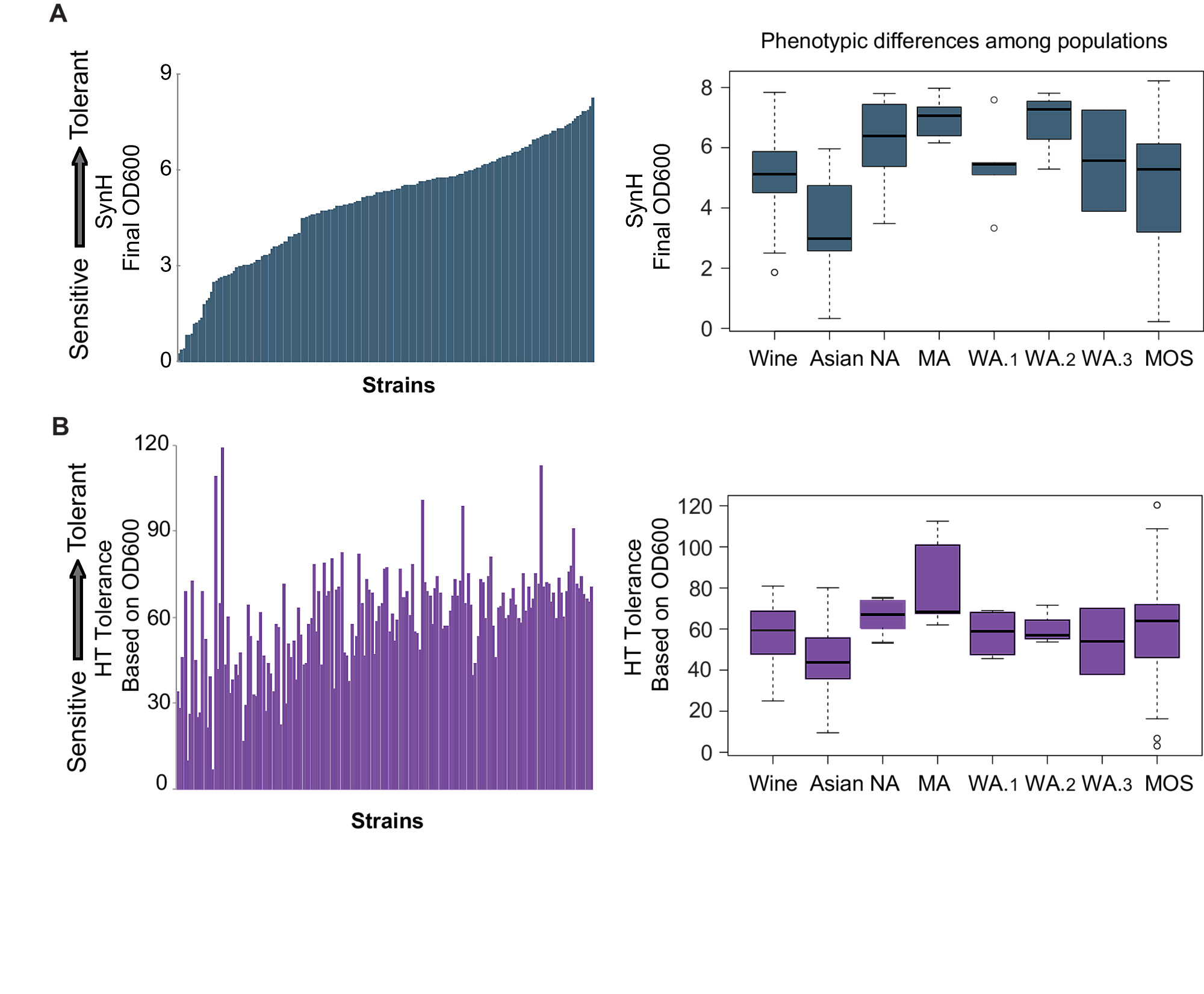 Genome-wide association across Saccharomyces cerevisiae