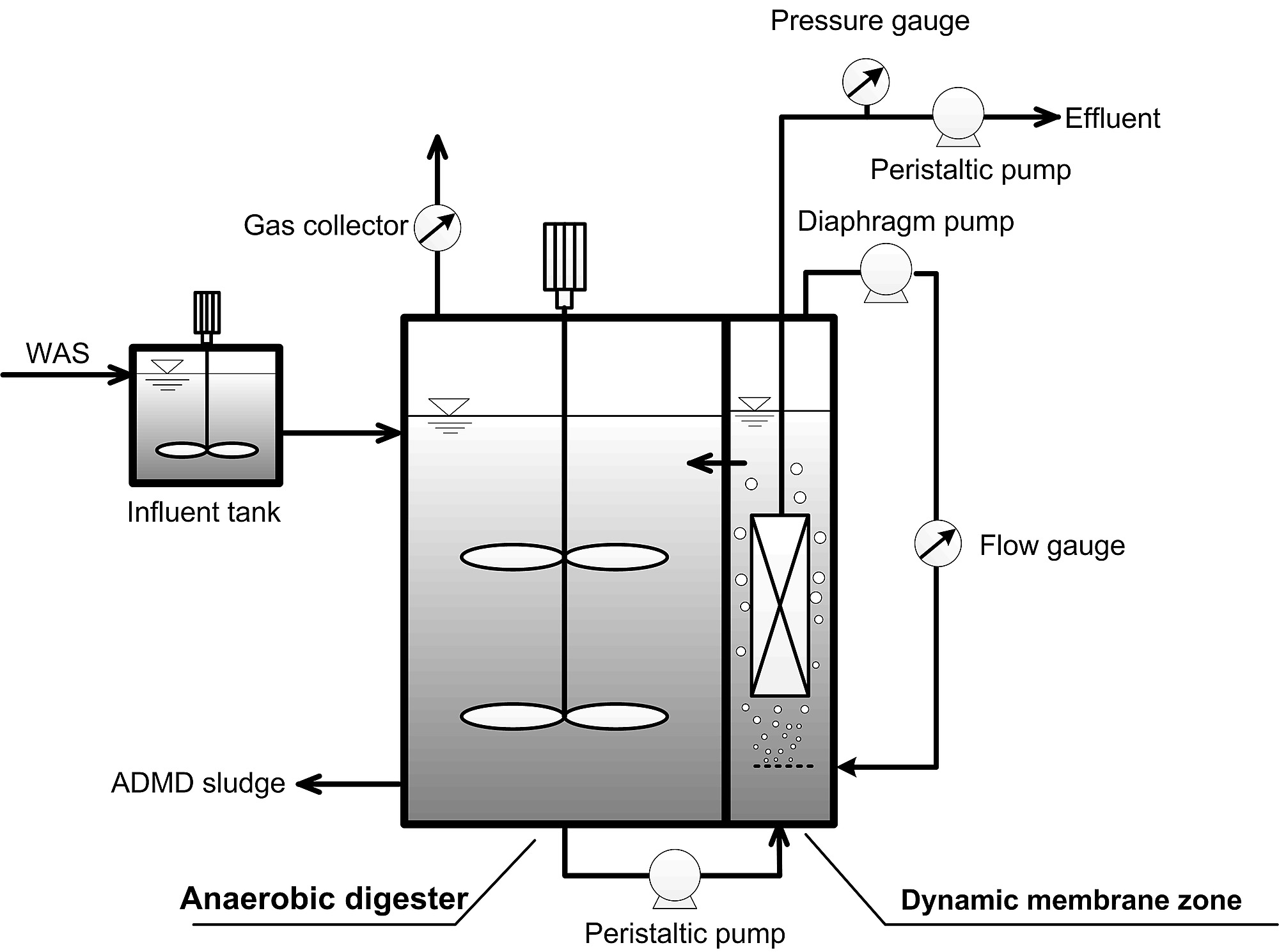 Start up of an anaerobic dynamic membrane digester for waste figure s1 schematic of admd system pooptronica Images