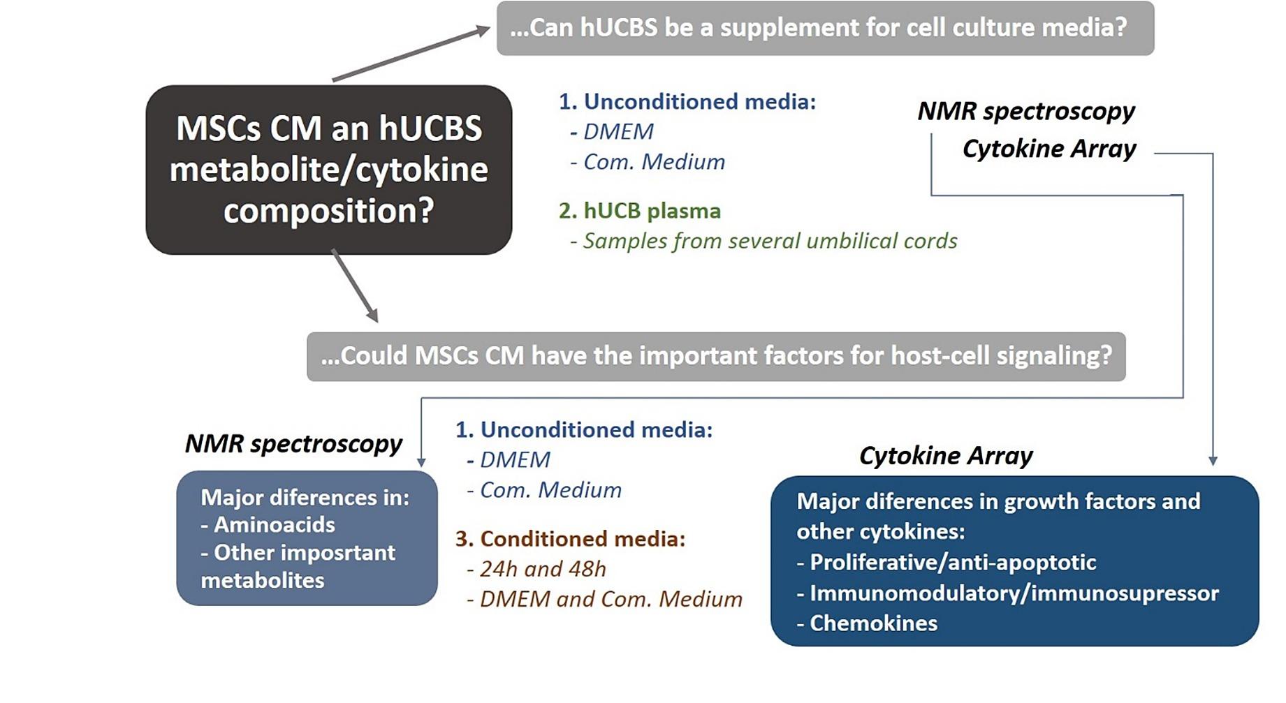 MSCs Conditioned Media and Umbilical Cord Blood Plasma