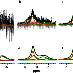 Deconvolution of Complex 1D NMR Spectra Using Objective