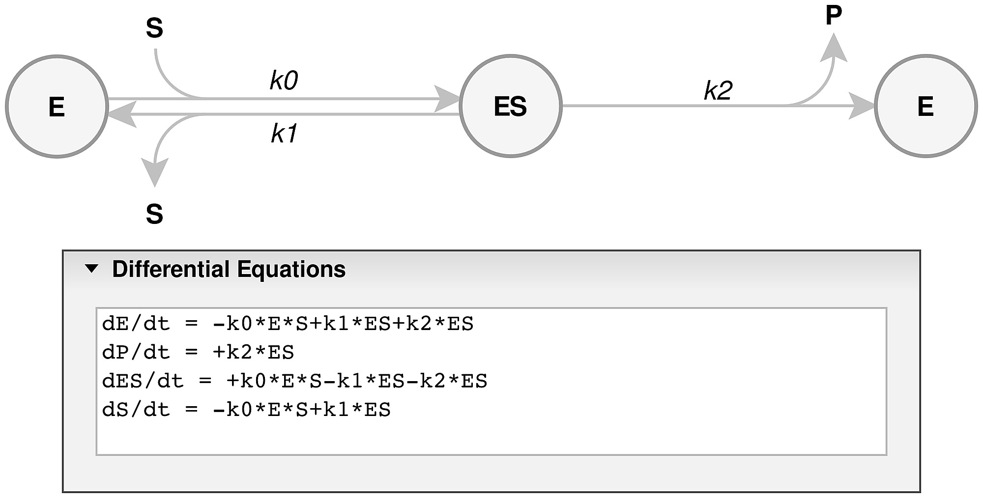 Enzo A Web Tool For Derivation And Evaluation Of Kinetic