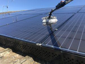 Washing Solar Panels