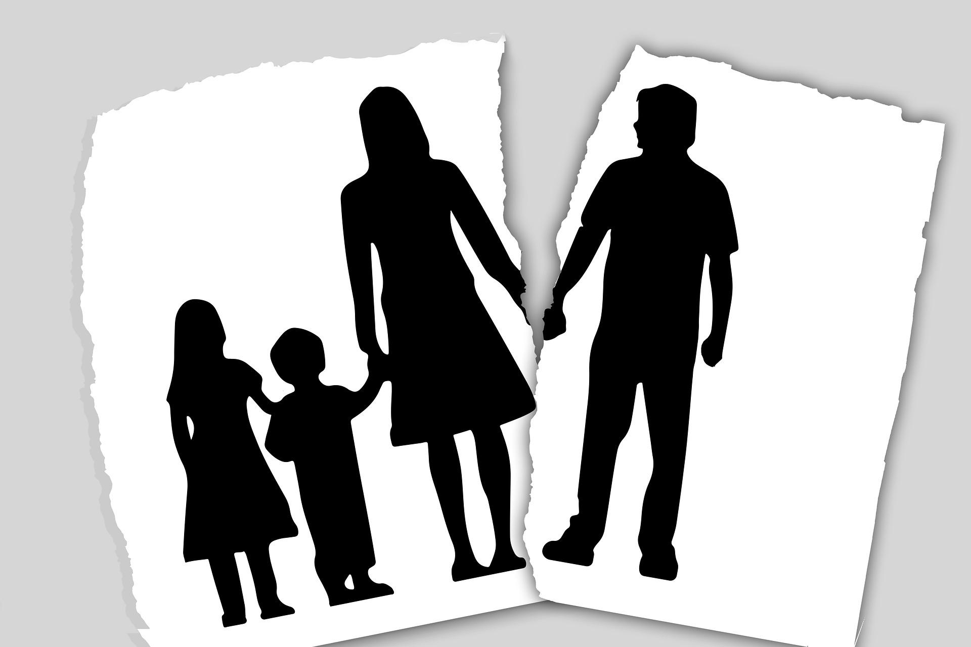 Divorcio y consecuencias psicológicas para los menores