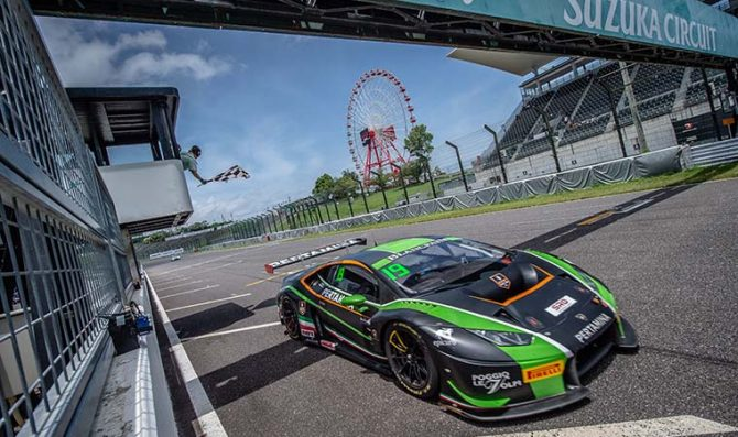 Lind, Kodric win race two in Suzuka