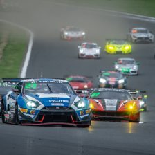 Nissan dominate Fuji race one