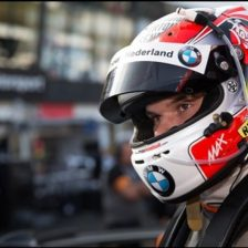 A Vallelunga test BMW