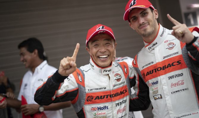 Second win for Walkinshaw/Takagi