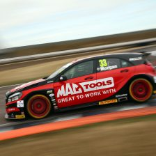 Morgan claims maiden BTCC pole
