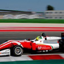 A Misano Schumacher in pole