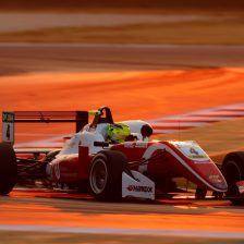 Schumacher secures third win