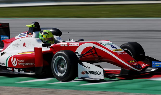 Schumacher claims fifth pole