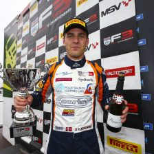 Kjaergaard wins race one at Donington