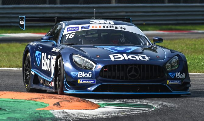 Hellmeister injured at Monza