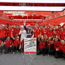 Prema celebrates team's title