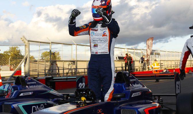 Kjaergaard reignites championship battle