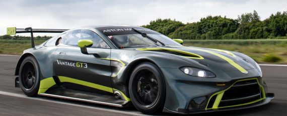 New Aston Martin Vantage GT3 makes its debut at Nurburgring
