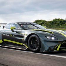 Debutta la nuova Vantage GT3