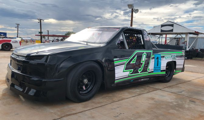 Davide Amaduzzi returns to action at  Tucson Speedway