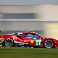 AF Corse a Monza con due Ferrari