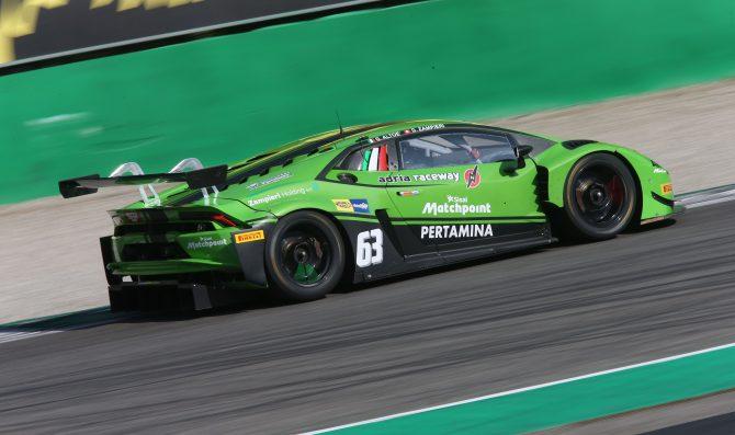 Tripletta Lamborghini a Monza