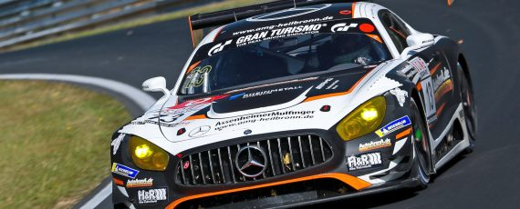 Assenheimer and Baumann lead a Mercedes one-two