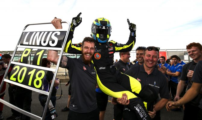 Lundvist crowned British F3 Champion
