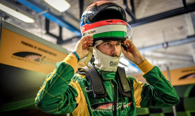Demarchi in pista con KEO Racing