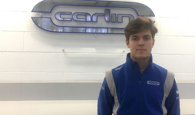 Drugovich joins Carlin for FIA F3 season