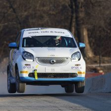 Buona la prima per la smart rallycross!