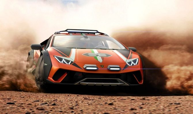 Presentata la Lamborghini Huracán Sterrato