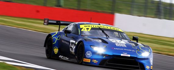 Davidson/Adam put the TF Sport's Aston Martin on pole