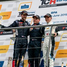 Briche' wins Race 2 at Spa