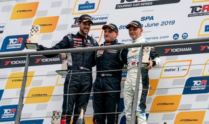 Briche' wins Race 2 at Spa