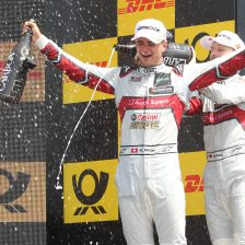 Muller takes second DTM win