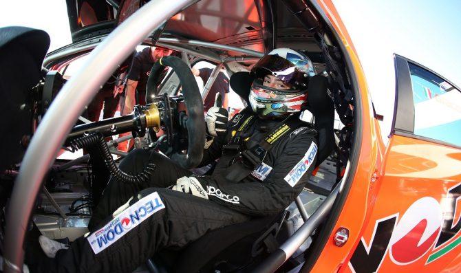 Kevin Giacon sulla Honda di MM Motorsport a Misano