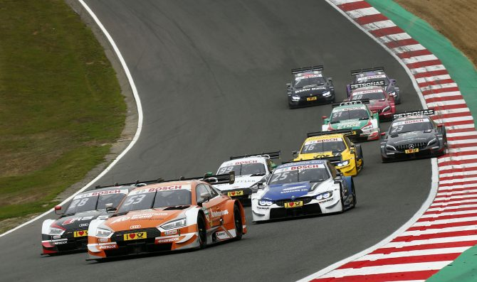 DTM prepares for British round