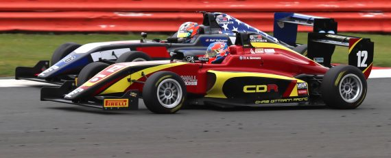 BRDC British F3 storms to Silverstone