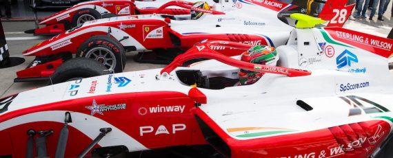 A Monza tripletta Prema