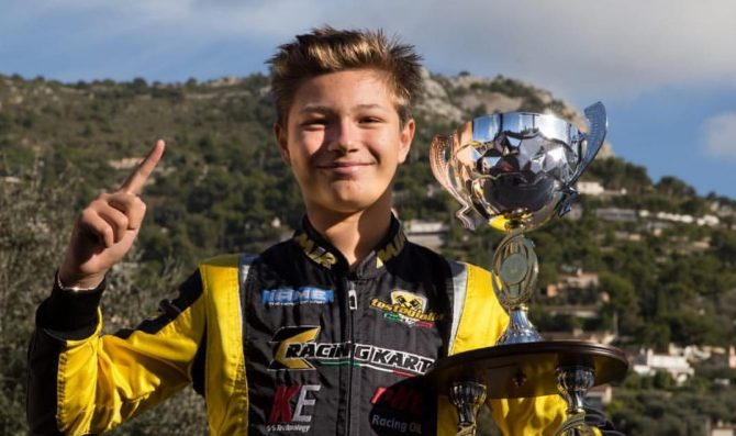 Dai kart elettrici alla smart e-cup, Benjamin Cartery debutta a Vallelunga