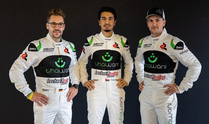 HTP Mercedes takes Gulf 12 pole position