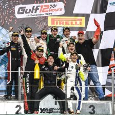Audi claims maiden victory at Gulf 12