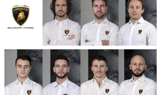 Lamborghini announces factory drivers