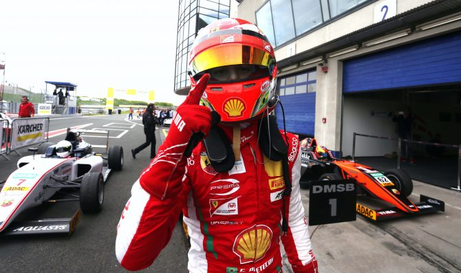 Petecof moves to Formula Regional
