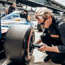 New Pirelli slick tyre for BOSS GP