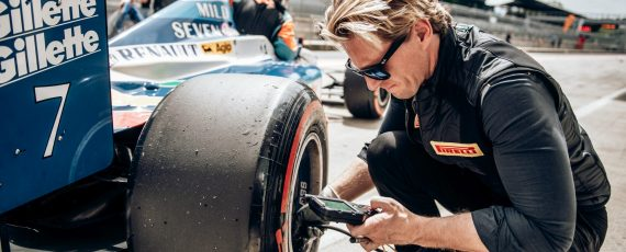 New slick tyre for BOSS GP