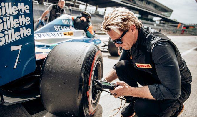 New Pirelli slick tyre for BOSS GP