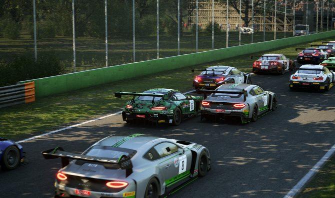 Virtual GT racing set for Monza challenge