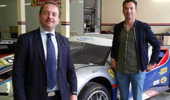 SR&R con una Ferrari in GT Cup