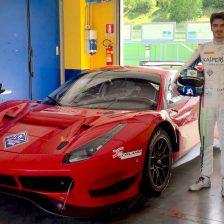 Primo test con la Ferrari per Rovera