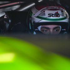 De Luca con la Mercedes GT4 Nova Race
